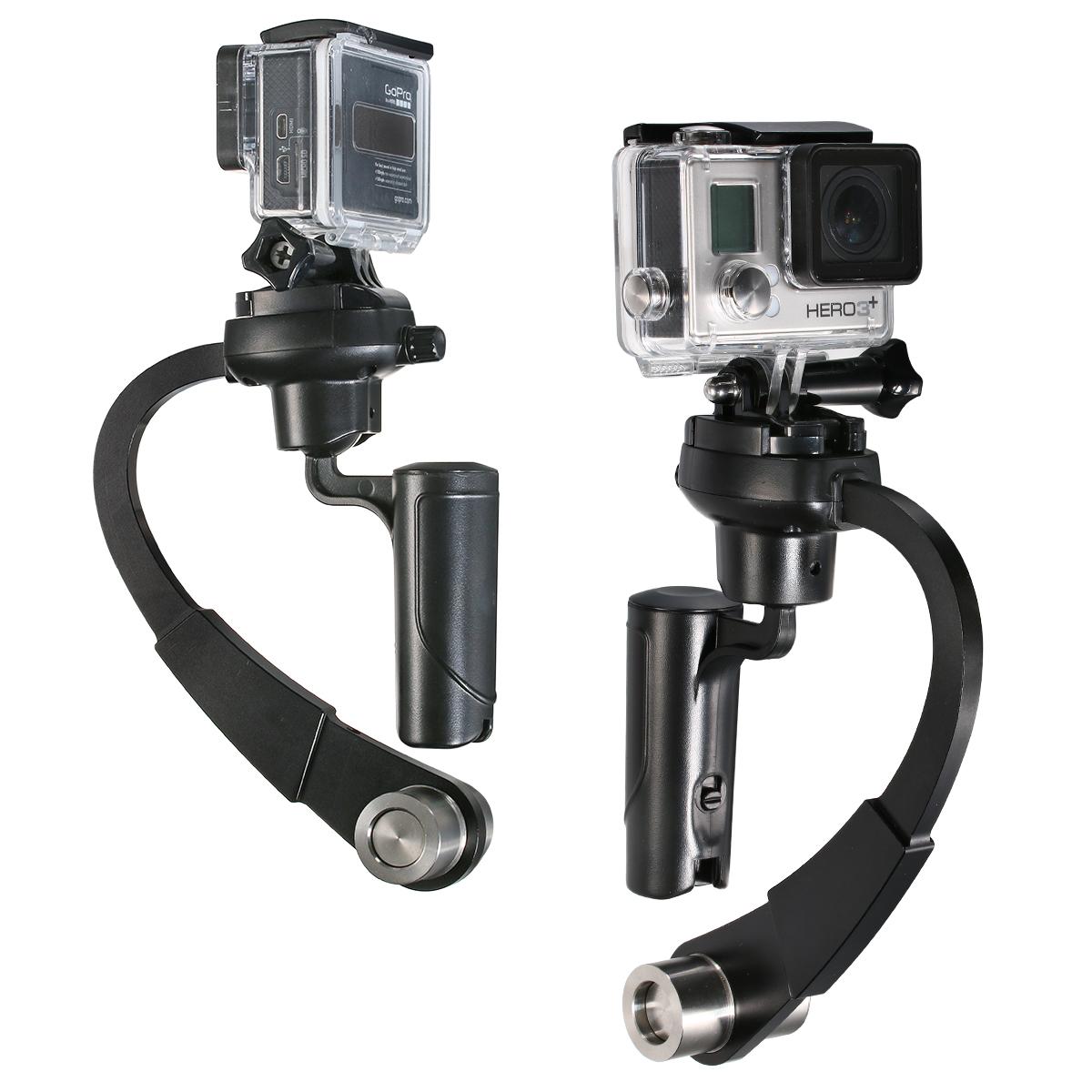 Mini Handheld Stabilizer Video For Gopro Hero 4/3+/3/2 sj4000 OS247(China (Mainland))