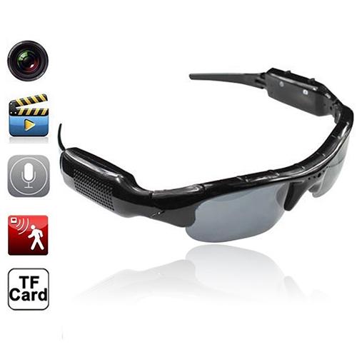 2016 New Arrival Mini HD Glasses Camera Sunglasses Eyewear DVR Video Recorder Cam(China (Mainland))