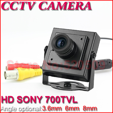 "Free Shipping,Security Mini CCTV Camera High Resolution 1/3"" CCD 700TVL Surveillance Pinhole Hidden Video Camera(China (Mainland))"