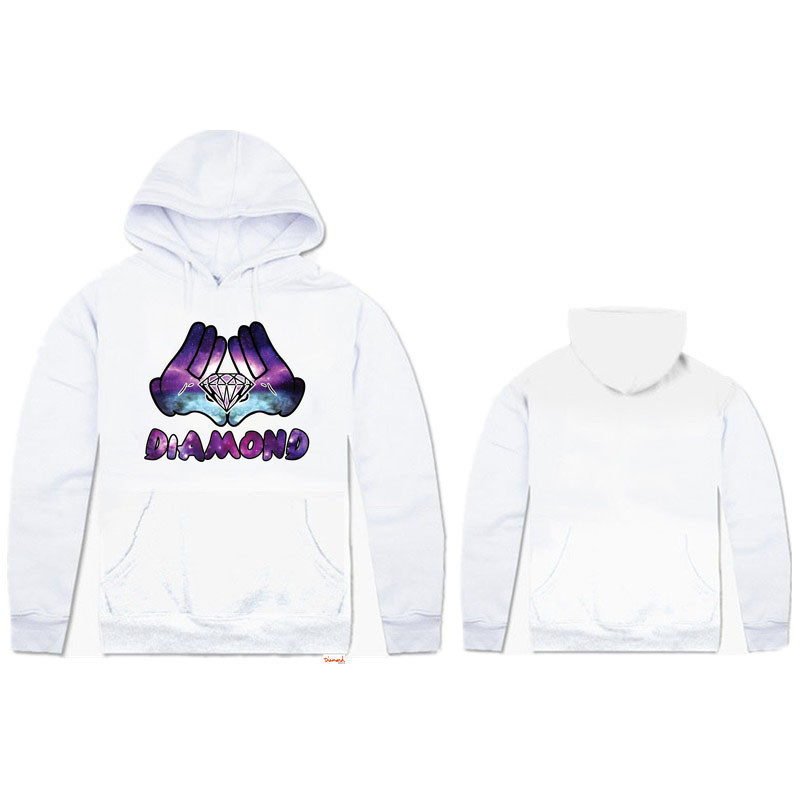 Mens Hoodies Diamond Supply CO hip hop new style GRIZZLY GRIP Men Clothing autumn & winter outdoor sports hoody clothing(China (Mainland))