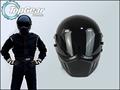 High Quality Bluetooth First Generation TopGear Stig 1 Helmet Black Colour With Black Visor Top Gear