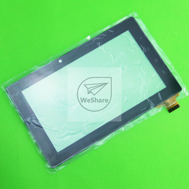 "7"" Touch Screen Digitizer Glass For Freelander Tablet PC PD10 PD20 15.5MM FLEX(China (Mainland))"