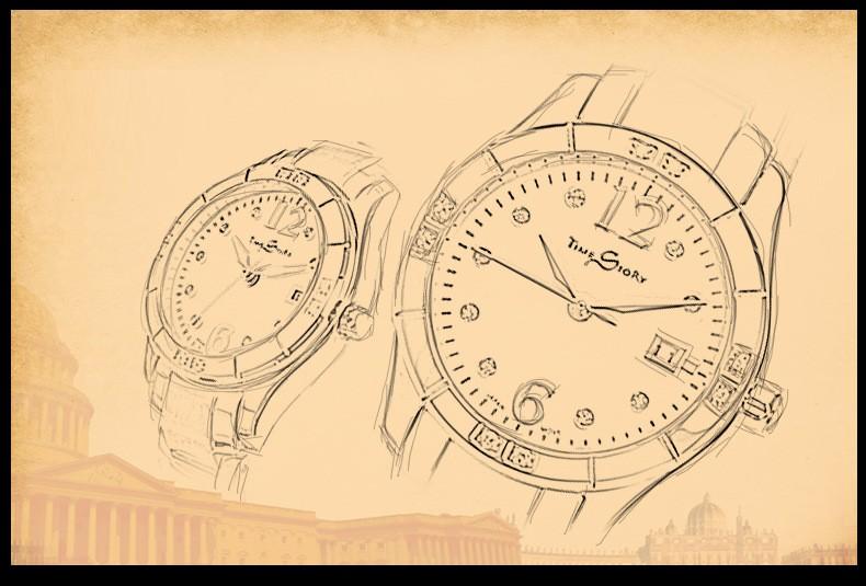 Бренд Класса Люкс Мода Dazzle Алмазный женские Часы Дамы Кварцевые Бизнес Случайный Наручные Часы Из Нержавеющей Стали Календарь