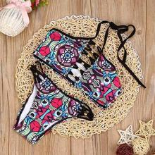 Buy sexy bikini brazilian bikini 2017 swimwear women halter swimsuit biquini high neck bikini maillot de bain femme #EW for $8.18 in AliExpress store