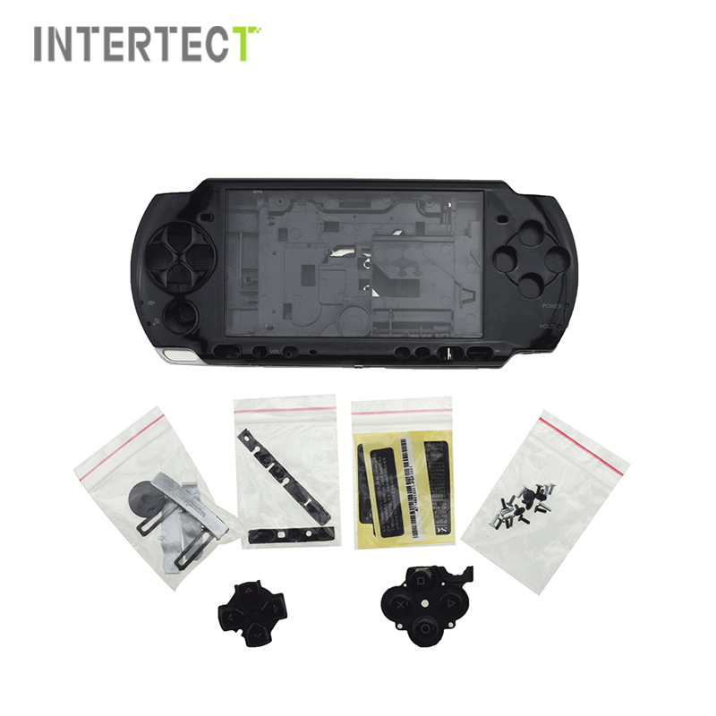 Brand New Full Set Housing Shell Case For Sony PSP 3000 Game Console Replacement Shell Cover Case With Buttons Kit For PSP3000(China (Mainland))
