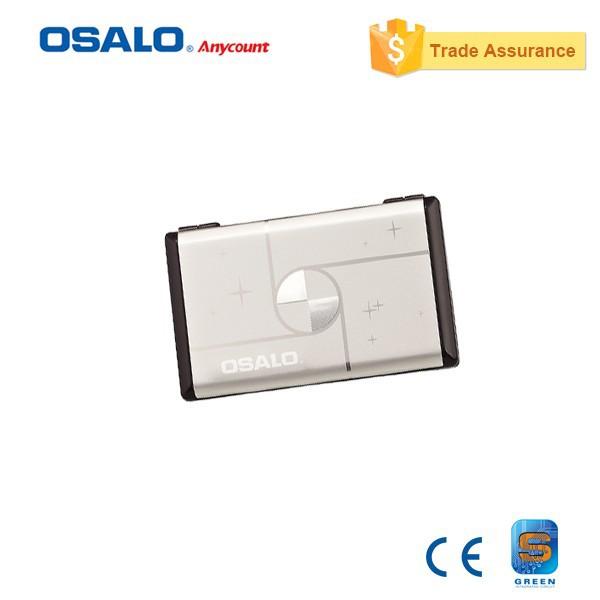 OS-300VC Mini Pocket Portable Folding Cute Check & Correct Solar Calculator 12 Digit Display Rubber Key Dual Power Calculadora(China (Mainland))