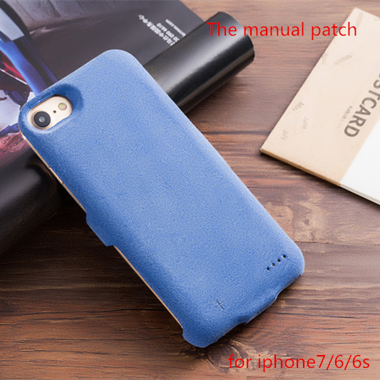 with Cover Luxury3000 mah External Rechargeable Backup Battery Power charger Case for iPhone 7 6s 6with ios 10.02 free shipping(China (Mainland))