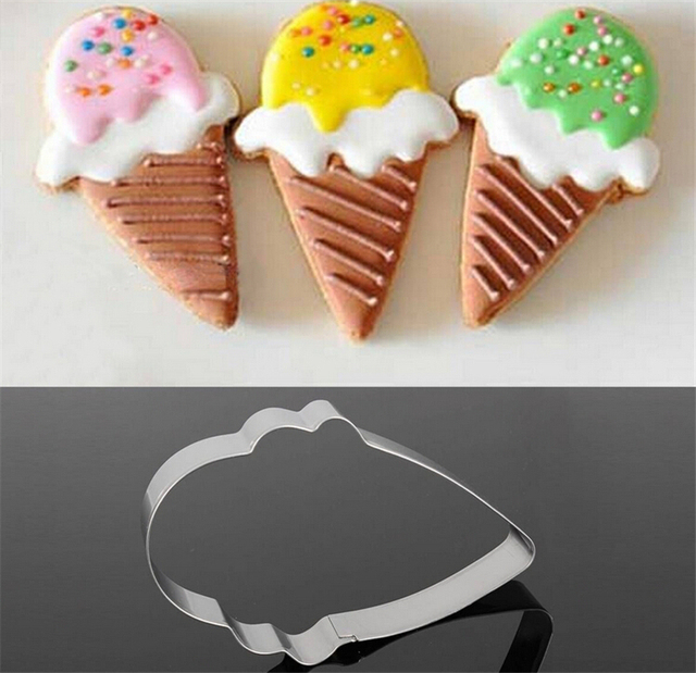 Ice Cream Cone Cake, Biscuit and Cookie Cutter