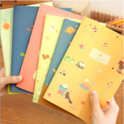 2016 Cute Kawaii Notebook Cartoon Journal Diary Planner Notepad for Kids Gift Korean Stationery 0519<br><br>Aliexpress