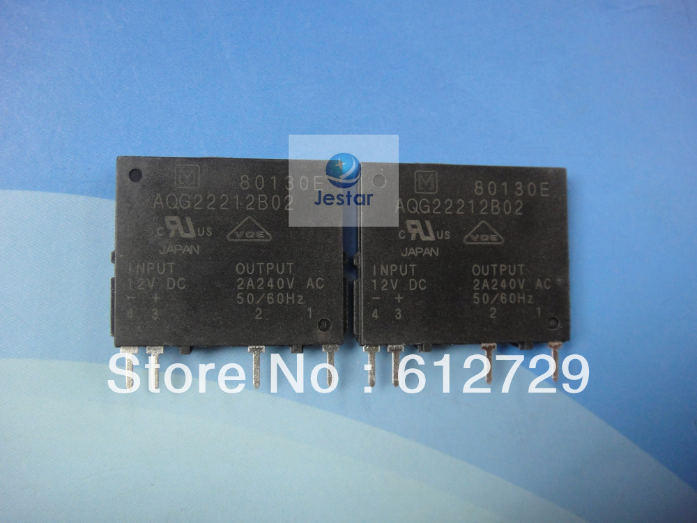 NAIS RELAY AQG22212 AQG22212-12VDC Solid State Relay hot sale great quality 180days warrantee 10pcs(China (Mainland))