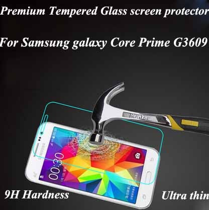 for samsung g3609 glass screen protector