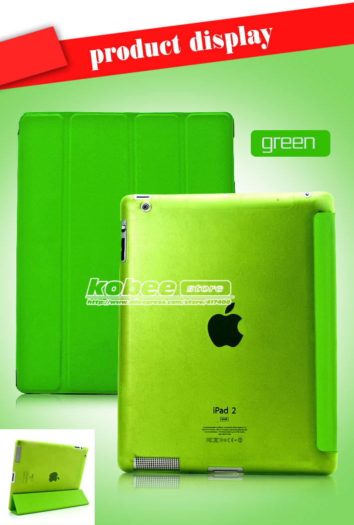 Slim Transparent Hard Back Case For iPad 2 3 4,Ultra Thin Smart Magnetic Skin Shell Cover For New iPad 2 3 4 10pcs Free Shipping<br><br>Aliexpress
