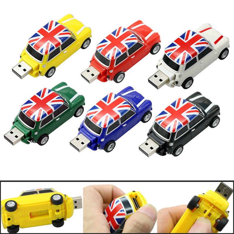 New elegant England car cool creative Gift usb flash drive memory stick 4GB 8GB 16GB pendrive external storage usb memory stick(China (Mainland))