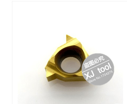 Free 08 IR 55 Carbide Threading Inserts 55 degree Internal Insert Lathe Inserts Threaded Cutter Lathe Tool