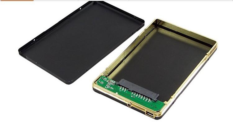 "ZK10 Hot 2.5"" inch 500GB 2TB 1TB 320GB SATA Hard Drive Solid Aluminum Case Super Speed USB 2.0 TO SATA Enclosure Plug and Play(China (Mainland))"