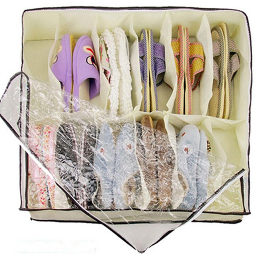 Free shipping transparent home furnishing box shoebox Storage Box waterproof Box for Household Home Use(China (Mainland))