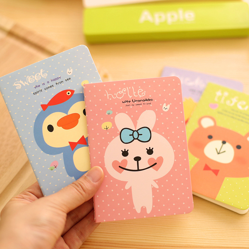 PINGYAOCY Brand Loss Big Sale 1pcs 12 * 8.5cm 20 Sheets Of Paper 40 Pages More Styles Notebook Cute Notes Notepad Scratch Pad(China (Mainland))