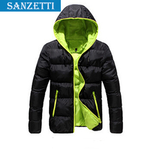 2014 Winter men's clothes outdoors sport coat down jacket coat,  thick warm Parka Coats & Jackets for man free shipping!