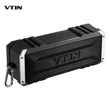VTIN Portable Wireless Bluetooth Speaker 20W Outputfrom Dual 10W Drivers with Passive Radiator and Mic for iPhone Samsung etc.(China (Mainland))