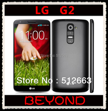 "LG G2 D802 Original Unlocked GSM 3G&4G Android Quad-core RAM 2GB 5.2"" 13MP 16GB WIFI GPS Mobile Phone dropshipping(China (Mainland))"