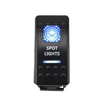 Buy 12v Led Rocker Switch 5 Pin 20A Bar ARB Carling Toggle Rocker Switch Switch Blue LED Light FOR Audi A4 b6 Golf 4 Passat b6 for $3.42 in AliExpress store