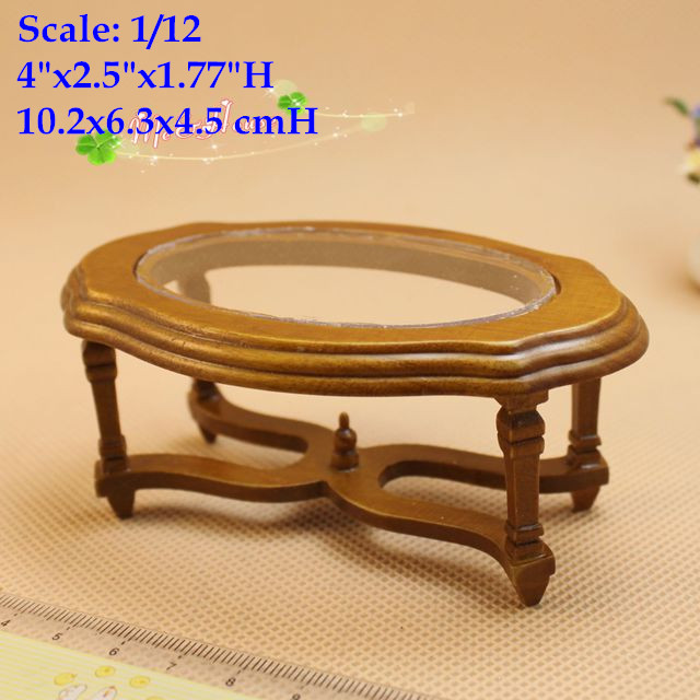 1:12 Scale Dollhouse Miniature Coffee Table Living Room Decor Accessory<br><br>Aliexpress