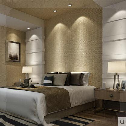 بيون التعاقد بسيطة أنيقة غير المنسوجة خلفية زرقاء المتوسطية غرفة الجلوس انتشار صبغات اللون النقي خلفيات ز(China (Mainland))