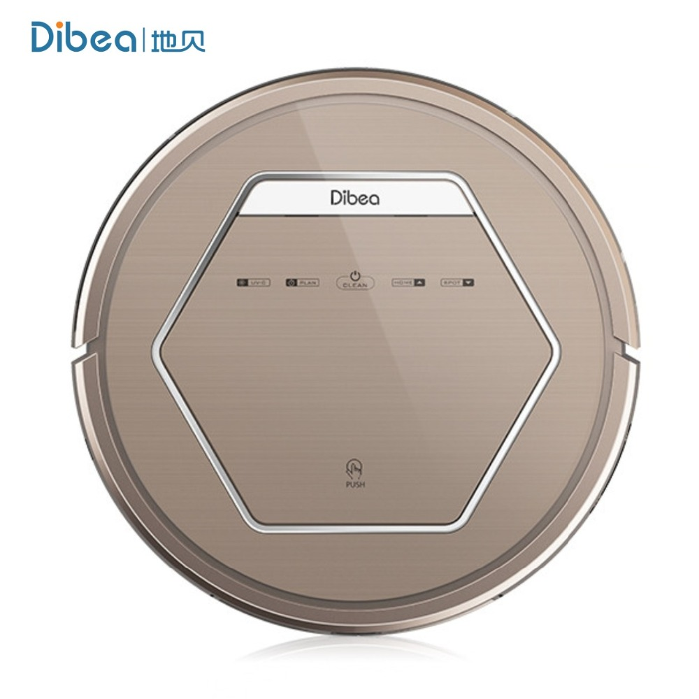 Dibea ZN808 Robot Aspirador Vacuum Cleaner UV Disinfection Appliance Household Hepa Filter Wet Dry Mop Recharging(China (Mainland))