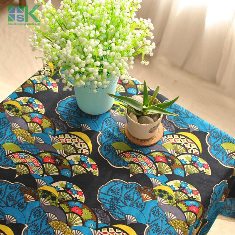 2016 New Arrival Export Japanese wind classical tradition lace table linen tablecloth towel , freee shipping(China (Mainland))