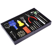 New Arrivals 20 in 1 Watch Tool Kit Professional Wristwatch Repair Tools Case Opener Tweezers Screw Drivers Remover Relojes Tool(China (Mainland))