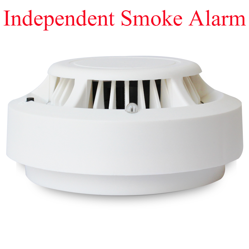 Free Shipping Marlboze 9V 433mhz Independent Smoke Fire Detector Sensor Alarm can be used Alone for House Office Home Security(China (Mainland))