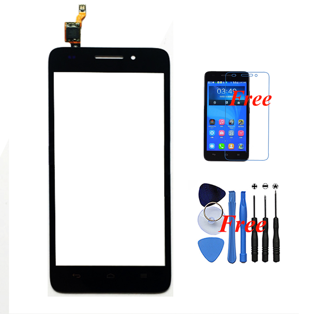 Huawei G620S G621 8817E 8817S New Original Touch Screen Panel Digitizer Glass Assembly Replacement Free Gifts - White Xinghai store