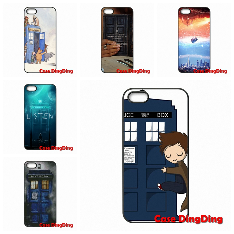 For LG G2 G3 Mini G4 G5 Google Nexus 4 5 6 E975 L5II L7II L70 L90 Stylus L65 K10 Tardis Doctor Who Box Mobile Pouch(China (Mainland))