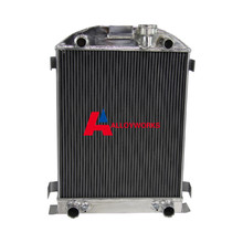 NEW 62MM FIT FORD 1932 FLATHEAD ENGINE FULL ALLOY ALUMINUM RADIATOR 32 3 CORE HOT SALE Automobiles AUTO Replacement Parts(China (Mainland))