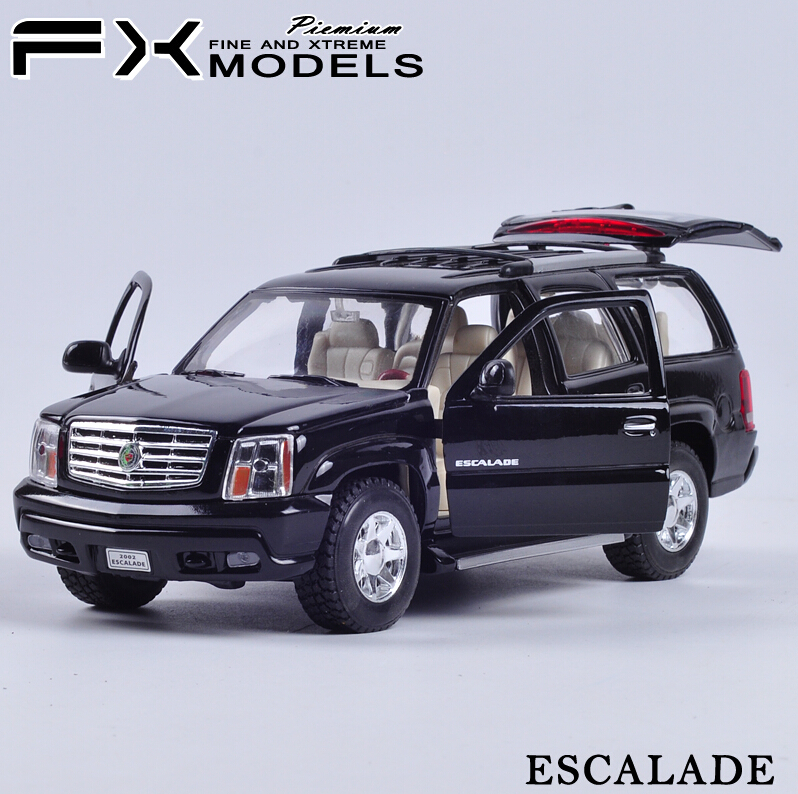 1/24 Scale WELLY Car Model Toys Cadillac ESCALADE Diecast Metal Car Model Toy For Collection Gift Decoration(China (Mainland))