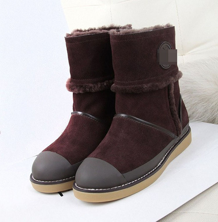 australia real leather winter boots snow boots