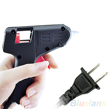 New Black Electric Tool Hot Melt Glue Gun 20 Watts Free Shipping