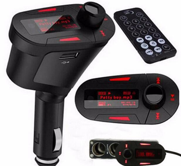 Bluetooth Car Kit Steering Wheel Mount caller ID function LCD Car Music MP3 Player FM Transmitter Modulator Handsfree <br><br>Aliexpress