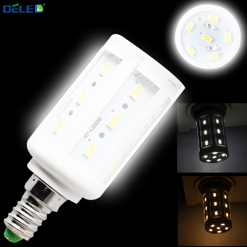 E14 LED Corn Lamp Bulbs 360 Degree vintage Energy Saving 5W Super Bright Corn LED Bulbs Lighting for Home Decoration Chandelier(China (Mainland))