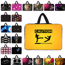 "Buy Boys Girls Neoprene 7 7.9 9.7"" inch 10 12 13 14 15 17 Laptop Notebook PC Sleeve Bag Handle Carry Cases Cover Pouch W.hide Handle for $6.75 in AliExpress store"