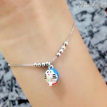 Free Shipping 925 Sterling Silver Bracelets Jewelry Gift For Girl Srebrna bransoletka pulsera de plata(China (Mainland))