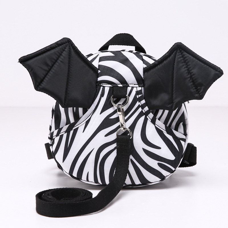 Hot sell children ajustable cartoon animal bat wings anti lost bag backpack troddler for lovely child and baby girls and boys(China (Mainland))