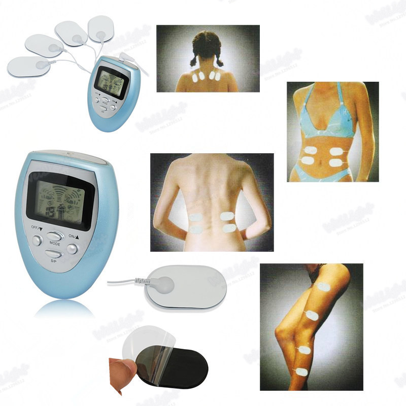 Discount Electronic Body Slimming massagers Pulse Massage tool for Fat burning Relax Pain Relief Stimulator Massageador(China (Mainland))