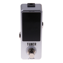 Buy DC 9V Chromatic Guitar Tuner Guitar Effect Pedal LED Digital True Bypass Tuner Guitar Bass violao musical instruments for $17.12 in AliExpress store