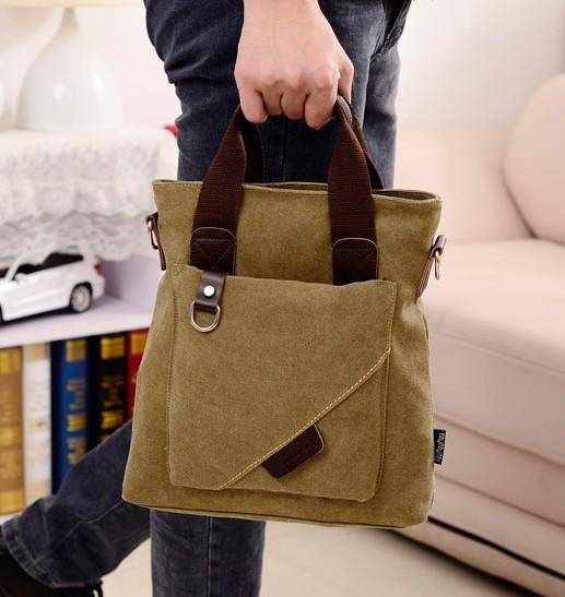 Free shipping 2014 New Mens Messenger Bags for Men Canvas Messenger Bag Vintage Crossbody Bag for Travel Messenger Bag(China (Mainland))