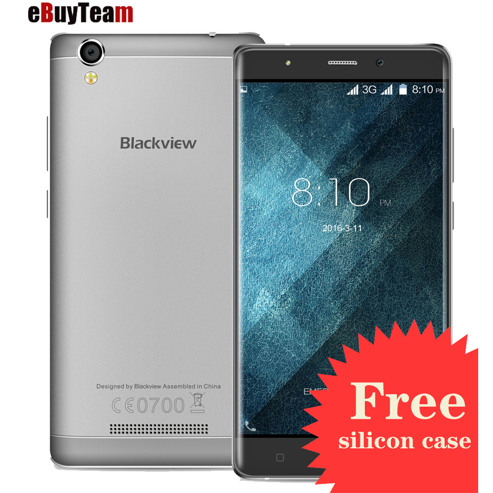 Original Blackview A8 Smartphone MTK6580 Android 5.1 5.0 inch IPS HD Quad Core Mobile Cell Phone 1GB RAM 8GB ROM 8MP Free Case(China (Mainland))