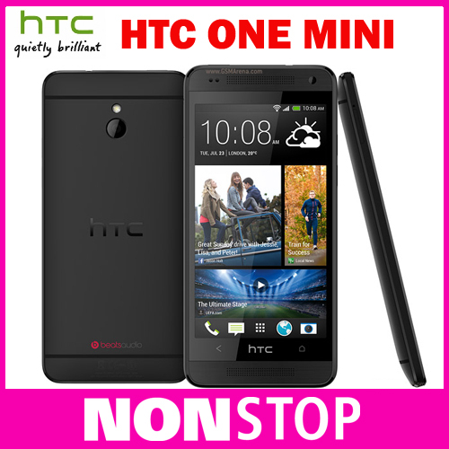 Original Unlocked HTC ONE Mini 601e Android OS 16GB storage 3G network Wifi GPS Dual Cameras Cell phones(China (Mainland))