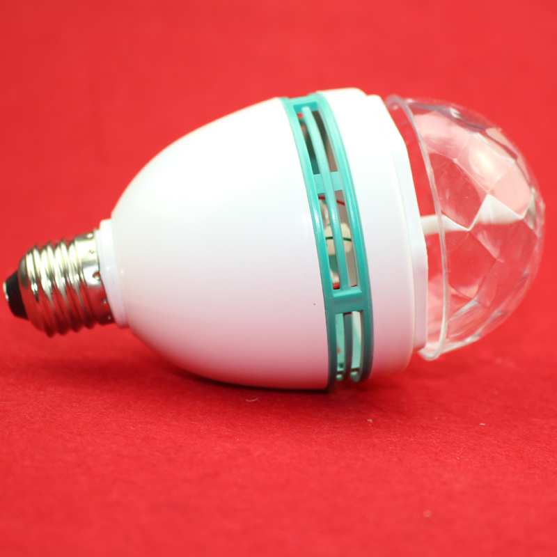 3W RGB LED lamp E27 Auto Rotating Stage lights Magic Ball Bulb For Home DJ Party Dance Decoration Bulb(China (Mainland))