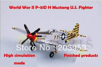 9sets 1/72 finished world war II USA  P51D H Mustang US piston propeller fighter model military aircraft model