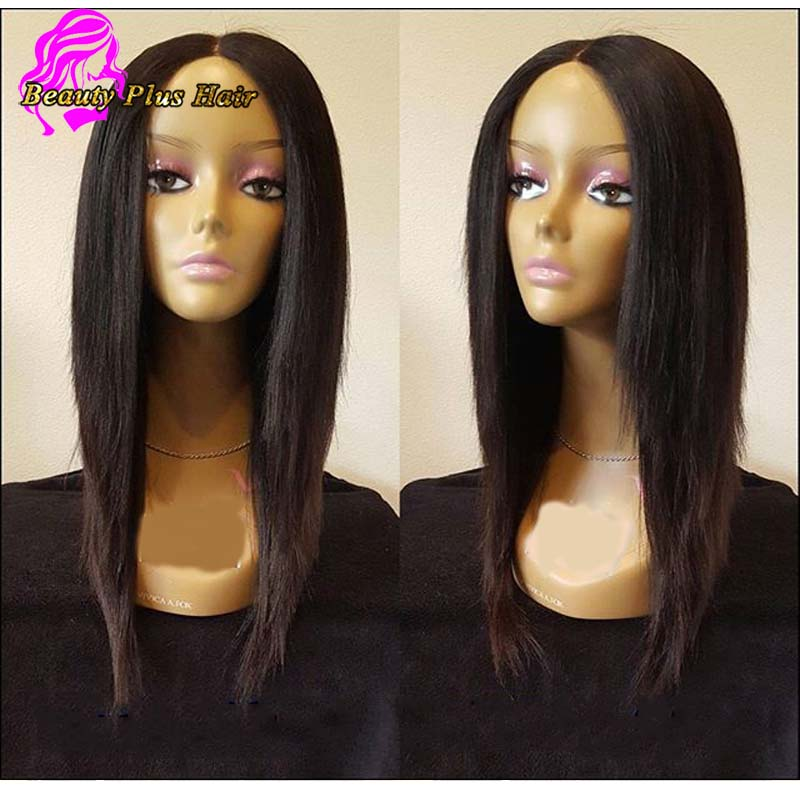 Best Full Lace Virgin Hair Wigs Silky Straight Glueless Lace Front Human Hair Wigs For Black Women Brazilian Wigs With Baby Hair<br><br>Aliexpress